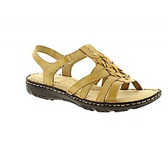 Earth Spirit - Beige 'New Jersey' ladies casual sandals
