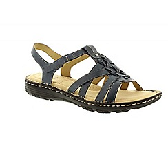 Earth Spirit - Blue 'New Jersey' ladies casual sandals