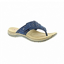 Earth Spirit - Palm Bay - Blue sandals
