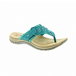 Earth Spirit - Palm Bay - Teal sandals