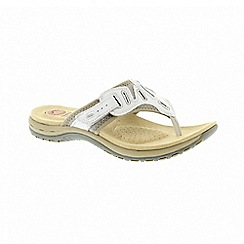Earth Spirit - Palm Bay - White sandals