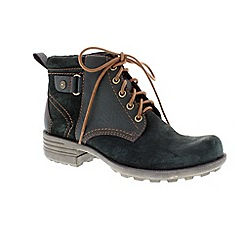 Earth Spirit - Green ladies 'Pasadena' lace up boot