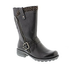 Earth Spirit - Black 'Preston' ladies boot