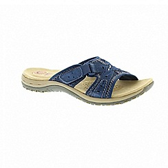 Earth Spirit - Rialto - Blue sandals