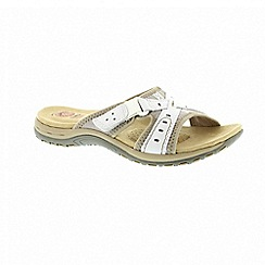 Earth Spirit - Rialto - White sandals