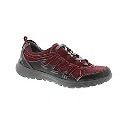 Earth Spirit - Dark red 'Merlot Rico' ladies shoe