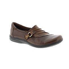Earth Spirit - Dark brown 'Bark Seattle' ladies shoe