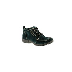 Earth Spirit - Deep pine 'Alaska' womens ankle boot