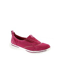Earth Spirit - Fuschia 'Baltimore' Ladies Casual Trainers