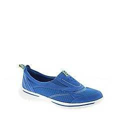 Earth Spirit - Blue Earth Spirit Cyan Blue 'Baltimore' Women's Slip On Shoe