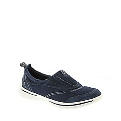 Earth Spirit - Navy Earth Spirit Navy Blue 'Baltimore' Women's Slip On Shoe