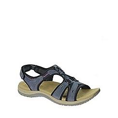 Earth Spirit - Dark Blue 'Indigo' Women's Casual Sandals