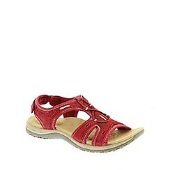 Earth Spirit - Red Earth Spirit Red 'Columbia' Women's Casual Sandals