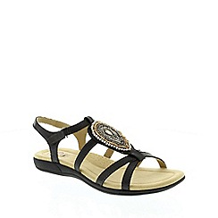 Earth Spirit - Black Earth Spirit Black 'Houston' Women's Sandal