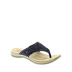Earth Spirit - Navy Earth Spirit Navy Blue 'Jackson' Women's Casual Sandals