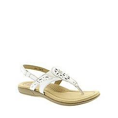 Earth Spirit - White Women's Casual Sandals