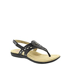 Earth Spirit - Black Earth Spirit Black 'Little Rock' Women's Casual Sandals
