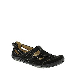 Earth Spirit - Black 'Long Beach' Women's Casual Shoes