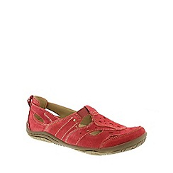 Earth Spirit - Red Earth Spirit Red 'Long Beach 2' Women's Casual Shoes