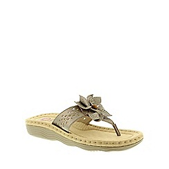 Earth Spirit - Metallic Earth Spirit Platinum Orlando Womens Sandals
