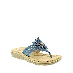 Earth Spirit - Blue Earth Spirit Blue Orlando Womens Sandals