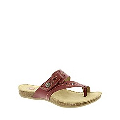 Earth Spirit - Red 'Phoenix' Women's Casual Sandals