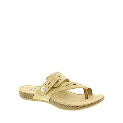 Earth Spirit - Beige Earth Spirit Biscuit 'Phoenix' Women's Casual Sandals