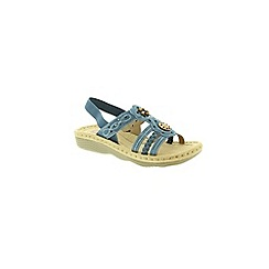 Earth Spirit - Blue Earth Spirit Blue Plymouth Womens Sandals