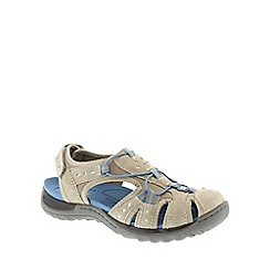 Earth Spirit - Khaki Earth Spirit Light Khaki 'Texas' Ladies Casual Closed Toe Sandals