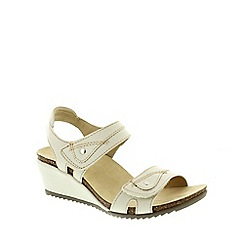 Earth Spirit - White Earth Spirit Sand White 'Santa Cruz' Women's Sandals