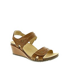 Earth Spirit - Brown Earth Spirit Alpaca 'Santa Cruz' Women's Sandals