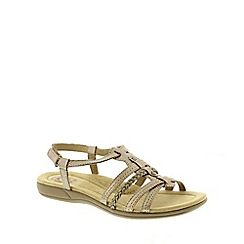 Earth Spirit - Metallic Earth Spirit Platinum 'Scotsdale' Women's Sandal