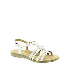 Earth Spirit - White  Earth Spirit White 'Scotsdale' Women's Sandal