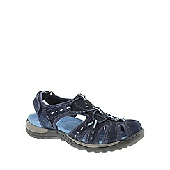 Earth Spirit - Blue Earth Spirit Blue 'Texas' Women's Closed Toe Sandals