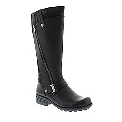 Earth Spirit - Black 'Suffolk' ladies boots