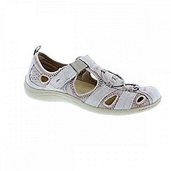 Earth Spirit - Grey ashland 'Wichita' ladies casual shoes