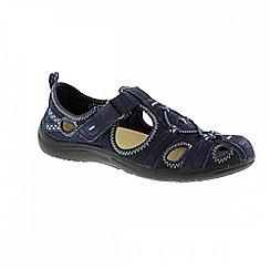 Earth Spirit - Navy 'Wichita' ladies casual shoes