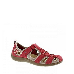 Earth Spirit - Red 'Wichita' ladies casual shoes