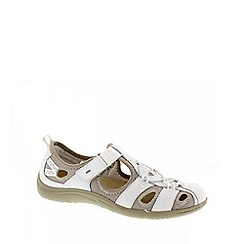 Earth Spirit - White 'Wichita' ladies sandals