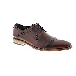 Goodwin Smith - Red Burgundy 'Langho' mens shoe
