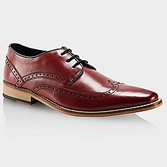 Goodwin Smith - Red bordo 'Healey' mens smart shoes