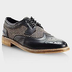 Goodwin Smith - Black 'Stead gibson' mens smart shoes