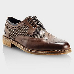 Goodwin Smith - Brown 'Stead gibson' mens smart shoes