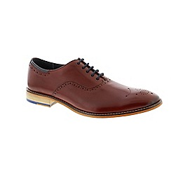 Goodwin Smith - Red Burgundy 'Wiswell' mens shoe