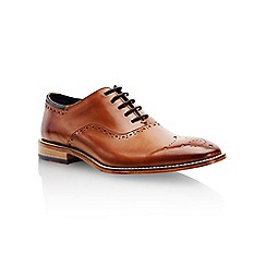 Goodwin Smith - Tan 'Wiswell' mens lace up shoes
