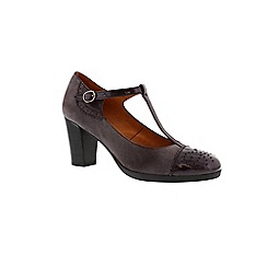 Hispanitas - Purple 'Palma' t-bar court shoe