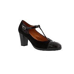 Hispanitas - Black 'Palma' t-bar court shoe