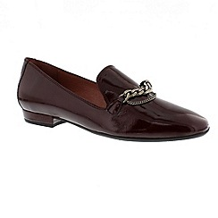Hispanitas - Red 'Tarifa' patent leather loafers
