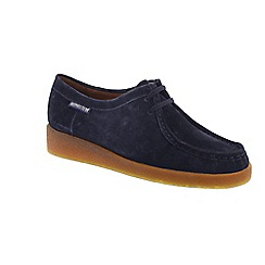 Mephisto - Blue suede 'Christy' shoes