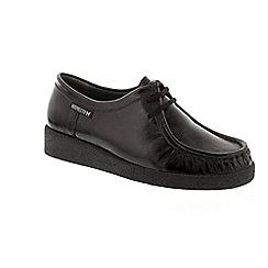 Mephisto - Black leather 'Christy' shoes